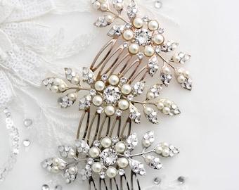 4c108ebd0a6 Wedding Hair Accessories | Etsy