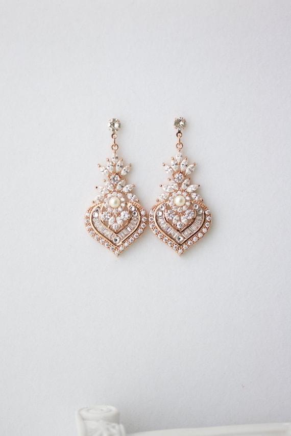 Ohrringe braut Bridal Crystal