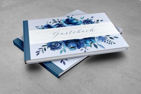 Gästebuch Indigo | blanko