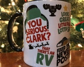 Christmas Vacation themed coffee mug