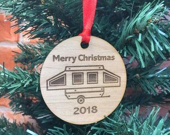 2018 pop up camper christmas ornament pup trailerpop up christmas tree pop up glamper pop up glamping camp pup tent camper