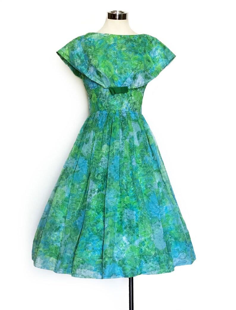 1960s BlueTeal Suit