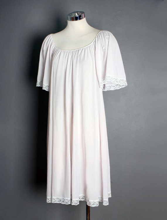 Lucie Ann Nightgown, Vintage Nighty Night Gown Pa… - image 4