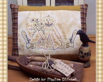 Jack-Primitive Stitchery E-Pattern by Primitive Stitches-Instant Download