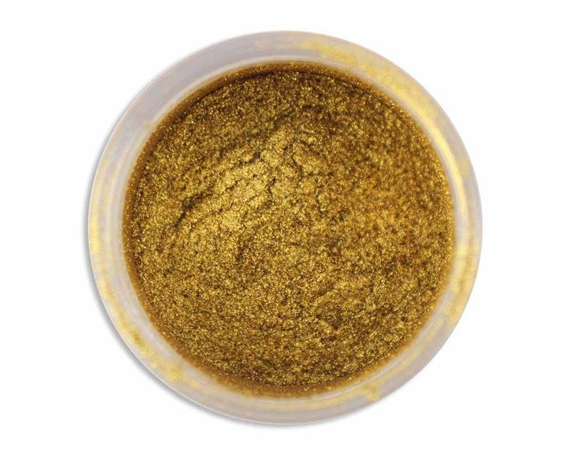 Spanish Gold Luster Dust  metallic gold dust for adding high image 0