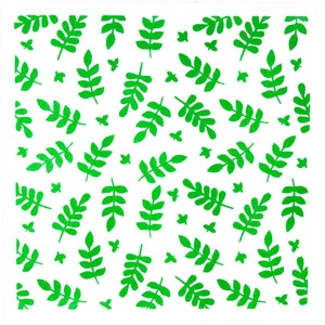 Leaves Cookie Stencil Single or Layered Leafy Branches Stencil Leaves Branches Cookie Stencil Leafy Branches Stencil FAST Shipping!!