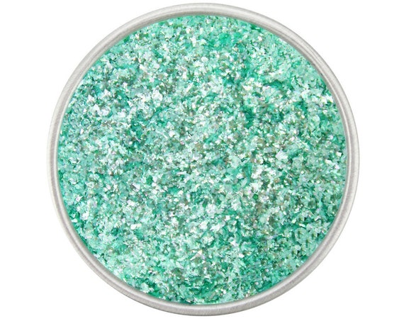 Sage Jewel Dust - sparkly 100% EDIBLE sparkly turquoise glitter for decorating cookies, cakes, cupcakes, and cake pops