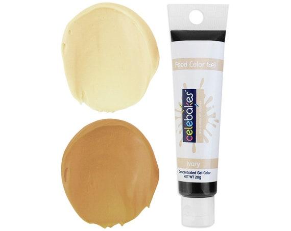 Ivory Gel Food Coloring Celebakes Gel Food Color Ivory | Etsy
