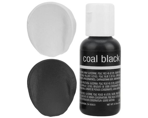 Coal Black Gel Food Coloring - Chefmaster - Black Food Color, Gel Food  Coloring, Grey Frosting, Black Icing, Cookie Cake Decorations