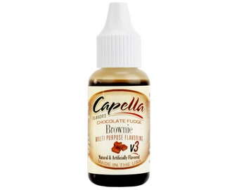 Chocolate Fudge Brownie Flavoring - flavoring oil, cotton candy flavoring, frosting flavor, ice cream flavoring, coffee flavoring