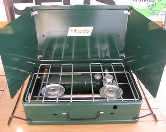 Vintage Western Field Hawthorne Camping Stove Cook Stove Camp Gear