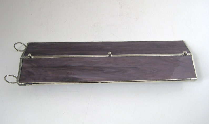 Vintage Prismatic Wand Purple Stained Glass Kaleidoscope Original Storage Box