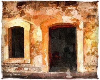 San Juan Fort Wall 8x10