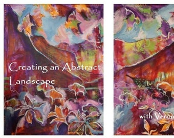 Painting a Landscape with Veronica Funk
