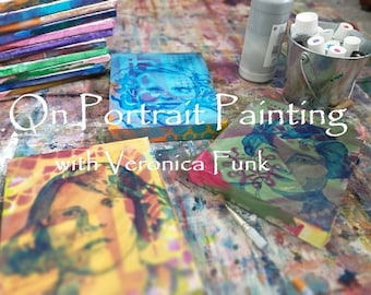 Painting Portraits with Veronica Funk