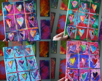 Painting Hearts with Veronica Funk