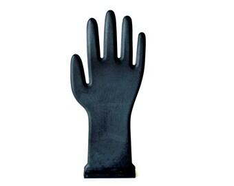 Vintage Black Glove Mold Hand