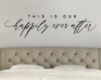 This Is Our Happily Ever After Etsy