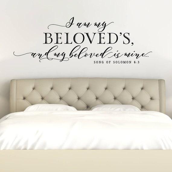 I am My Beloved/'s  Version 1 Vinyl Decal