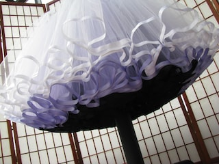 Tulle Petticoat with Ribbon Edging, Morning Mist, 4 Layers -- Custom Size, Length, and Colors -- Made to Measure, Adults & Children