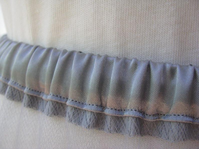 Silver Gray Tulle Petticoat 8 Layers Custom Order