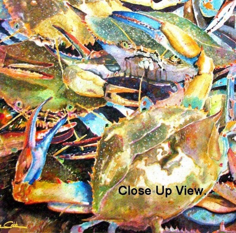 Blue Crab Art