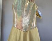 Pure Gold quot One Shoulder Skating Dress