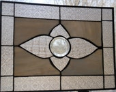 Victorian styled stained Glass window