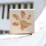 Paw Print Rubber Stamp - Pawprint - Dog - Cat - Pet Print