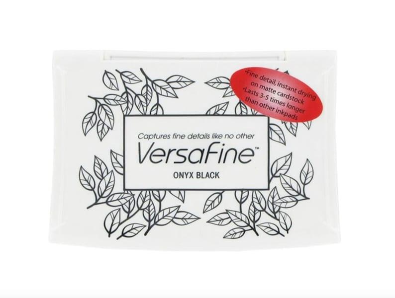 Versafine Onyx Black Pigment Ink Pad  Stamp Pad image 0