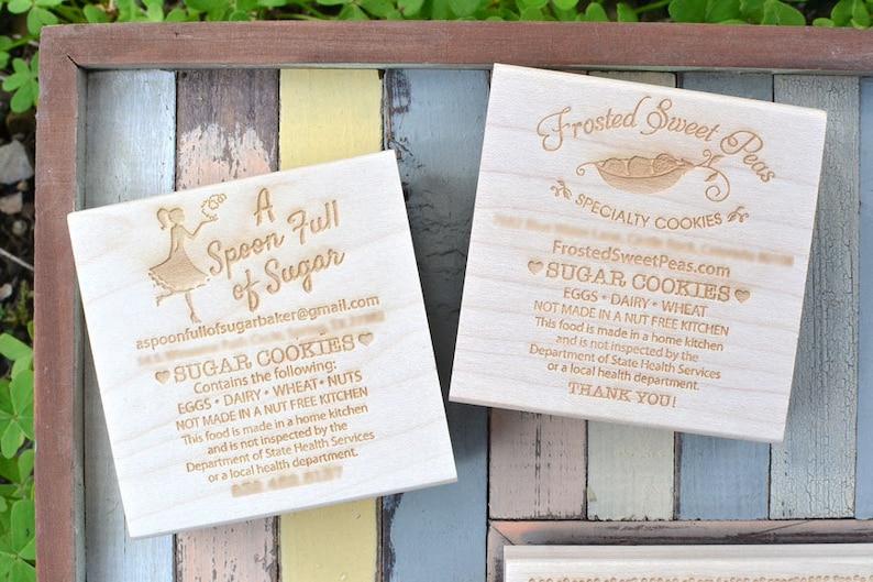 Cottage Law Rubber Stamp Baking Stamp Baker Stamp Home image 0