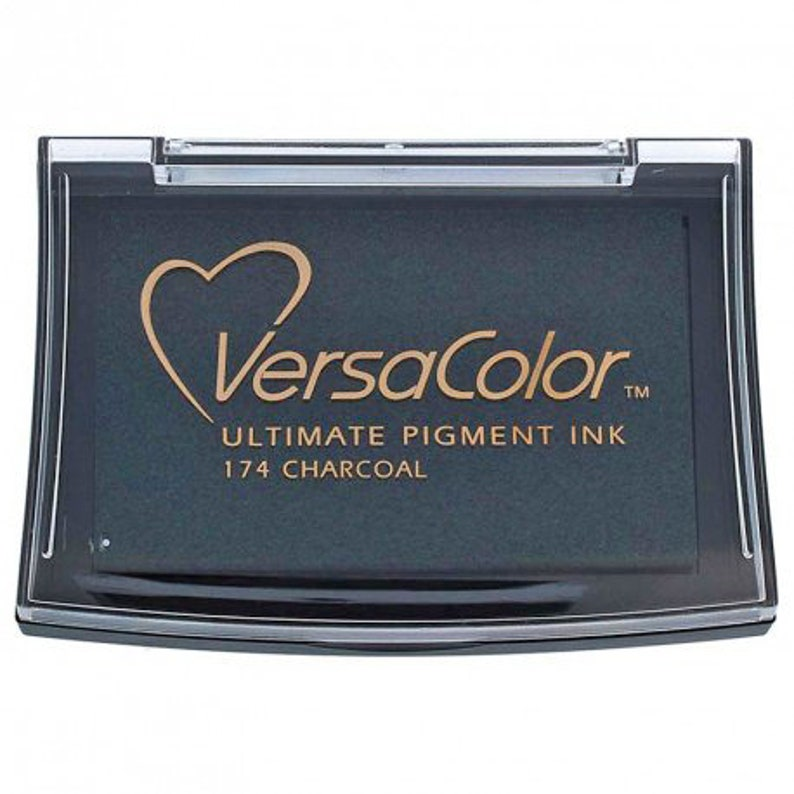 Versacolor Charcoal Pigment Ink Pad  Stamp Pad image 0