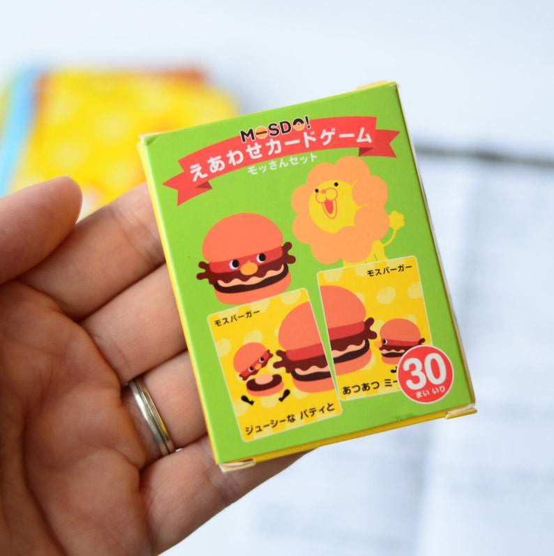 42c4474876c9c Preloved Japanese Misdo matching game card for kids