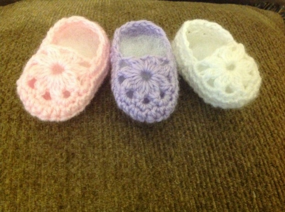 Crochet Baby Shoes Crochet Baby Booties Crochet Doll Shoes
