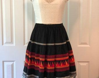 Vintage Seminole Ribbon Skirt