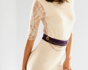 Pretty Birdie's VIntage Lace and Bamboo dress