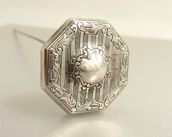 Antique Victorian Sterling Hat Pin