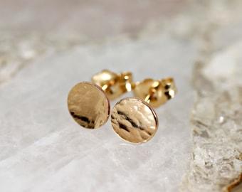 Gold Earrings Etsy