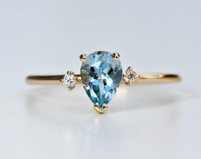14k Gemstone Rings