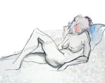 NEW!! The End of the Session - female nude