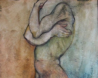 Erotic Art Print, Male Nude - The First of the Three Wise Men