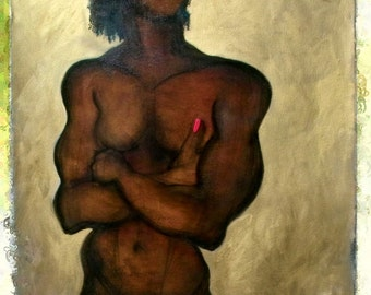 Erotic Art Print, Male Nude - One of the Three Wise Men