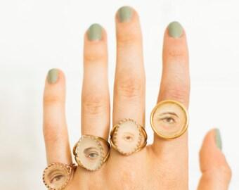 Custom-Ordered Eye Ring (M)