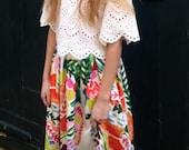 Des Fleurs Skirt
