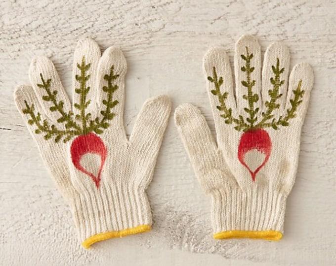 Radish Gardening Gloves