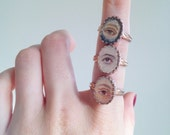 Small Lover's Eye Ring