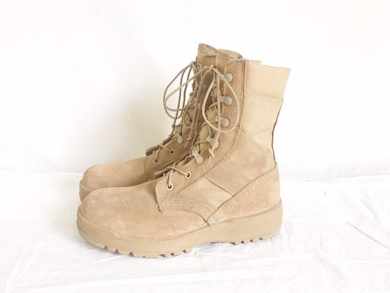 9891be34c3d Vintage McRae Military Desert Combat Boots. Size 7 1 2