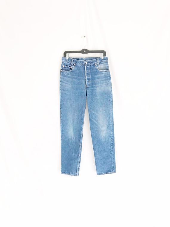 Vintage LEVIS 701 Student Fit Jeans. Tag 32 x 34.… - image 2