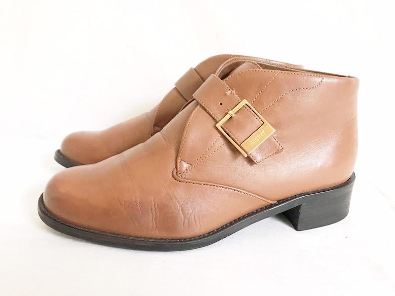 Size 7 12 Vintage 80/'s eittienne Aigner Ankle Boots