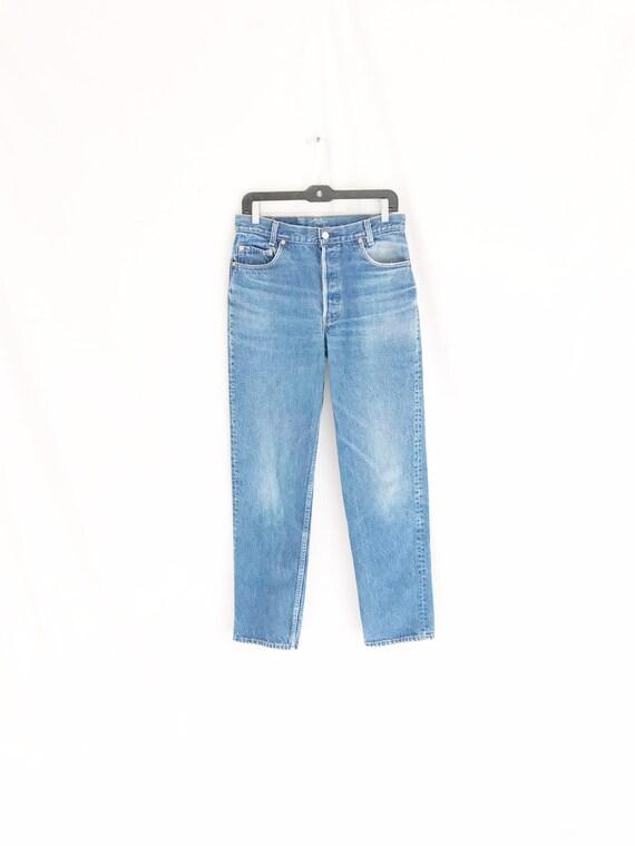 Vintage LEVIS 701 Student Fit Jeans. Tag 32 x 34.… - image 3